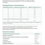 DEVK-Immobilienfinanzierung: Konditionen (Tabelle)