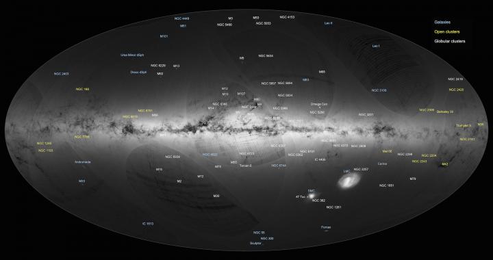 Gaia erste Sternenkarte